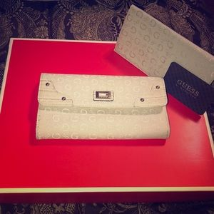 Guess wallet and cheque book cover